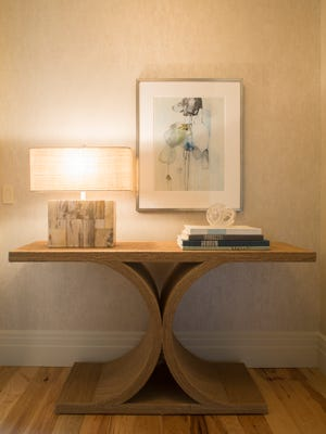 A side table.