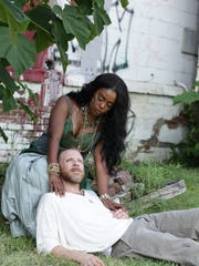 """Erica Patterson plays Mary Magdalene and Michael Kitts plays Jesus in """"Jesus Christ Superstar."""""""