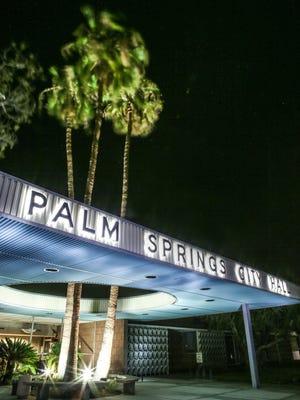 The Palm Springs City Hall.