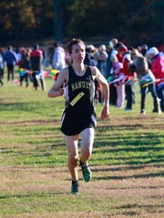 Ryan Guerci of Nanuet came in second place in the at
