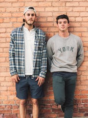 Josh York (left) and Will Taylor are co-owners of