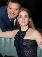 """Arrival"" stars Jeremy Renner and Amy Adams attend the movie's premiere party in Los Angeles on Nov. 6, 2016."