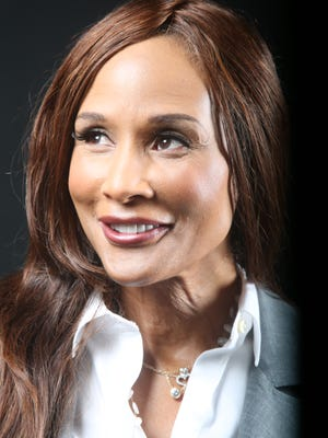 Beverly Johnson, was the first woman of color to be featured as a model on the cover of Vogue magazine in 1974. She is photogaphed at the Desert Sun offices.