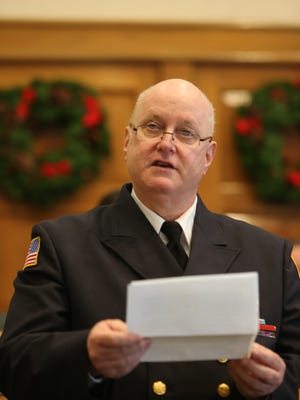 Former Bergenfield Fire Chief Gerard Naylis is challenging a borough law on fire safety inspections.