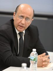 Hussein El Zoghby, trustee and chairman of the project
