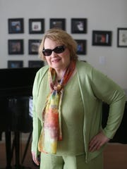 Jazz singer-pianist Diane Schuur at her Cathedral City home in March of 2014.