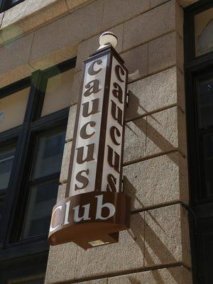 The Caucus Club in Detroit's Penobscot Building.