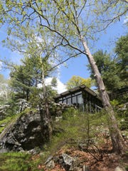 A view of the home and the grounds at Manitoga/The