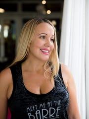 Jennifer Holderman fell 50 feet from a Las Vegas balcony