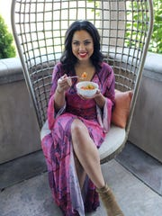"Ayesha Curry penned her first cookbook titled ""The"