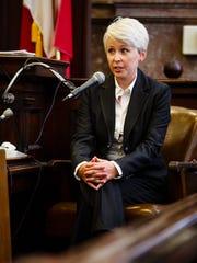 Former Iowa Senate Republican caucus staffer Kirsten