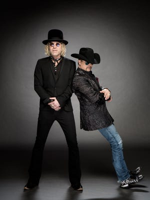 Big Kenny, left, and John Rich are the country duo Big & Rich, performing July 30 at FireFest.