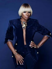 Mary J. Blige plays Friday.