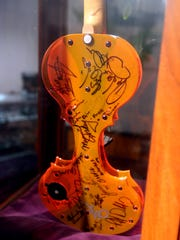 Paul Peabody, a Nyack resident, has played violin for
