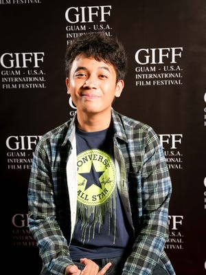"""Julan Villegas, 18, is an independent filmmaker. His action film """"Project Fortress"""" was screened at the Guam International Film Festival 2017"""