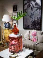 """The South Beach room in """"The Archive,"""" a pop-up shop within the showroom on Thursday, November 9, 2017 at Norris Furniture and Interiors in Naples."""