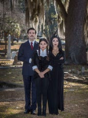 "Alec Ruiz, Valeria Ceballos and Lilianna Solum starred in the 2017-2018 production of ""The Addams Family"" at the School of Theatre at Florida State."