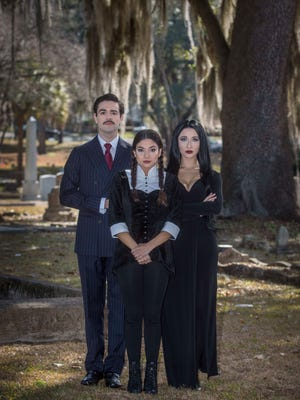 """Alec Ruiz, Valeria Ceballos and Lilianna Solum star in """"The Addams Family"""" at The School of Theatre at Florida State."""