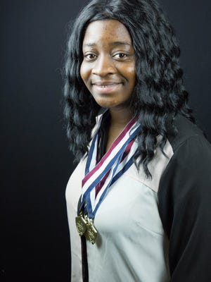 Oliva Kpatcha, 17, is the winningest participant that competed at New Mexico HOSA State Conference on Feb. 8. Kpatcha and 51 other Oñate High School students competed, with 39 offered spots at the international conference in June.