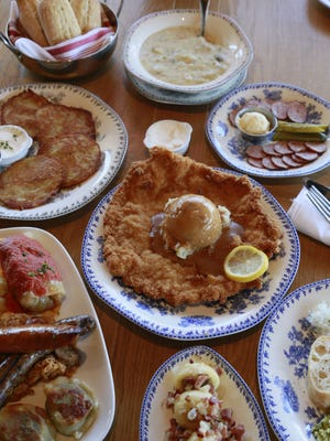 A spread of Polish fare from Polka Restaurant in Troy, which debuted on Maple near Dequindre in January.