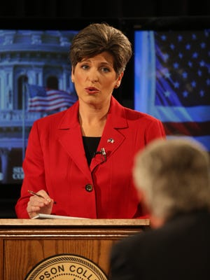 Individual rights and freedom from restrictions on gun rights are big deals for state Sen. Joni Ernst, a Republican.