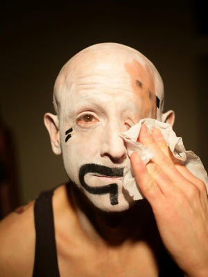 """Performance artist Satori Circus will do encore presentations of his """" ... Poems We Tell Ourselves"""" on Friday and Saturday."""