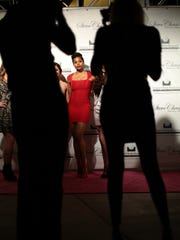 Member of the So You Think You Can Dance dancers on the red carpet at the 21st annual Steve Chase Humanitarian Awards at the Palm Springs Convention Center Saturday night.