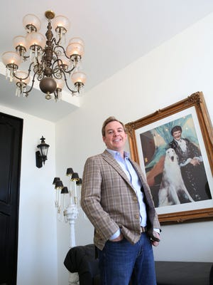 """Interior Designer Christopher Kennedy redesigned Liberace's original residence in Palm Springs, which will host """"an Evening at the Piazza di Liberace"""" during Modernism Week."""