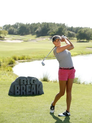 Former Webster resident Tessa Teachman, 25, is a contestant on the Golf Channel's Big Break Myrtle Beach. The program airs at 9 p.m. on Tuesdays.