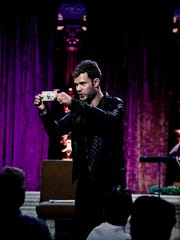 """Magician Sammy Cortino brings his show """"Magic to Rock A New Generation"""" to the White Plains Performing Arts Center on March 21, 2015."""