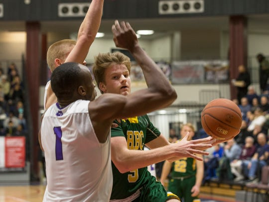 Red Bank Catholic's Charlie Gordonier drives to the