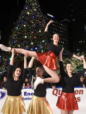 An ice show and other live entertainment will be part of the Tree Lighting Ceremony at Campus Martius Friday.