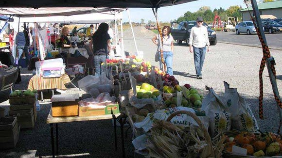 Late October is the end of the season for most local farmers. This is the time to enjoy fresh apples, corn, berries, tomatoes, etc. before winter comes.