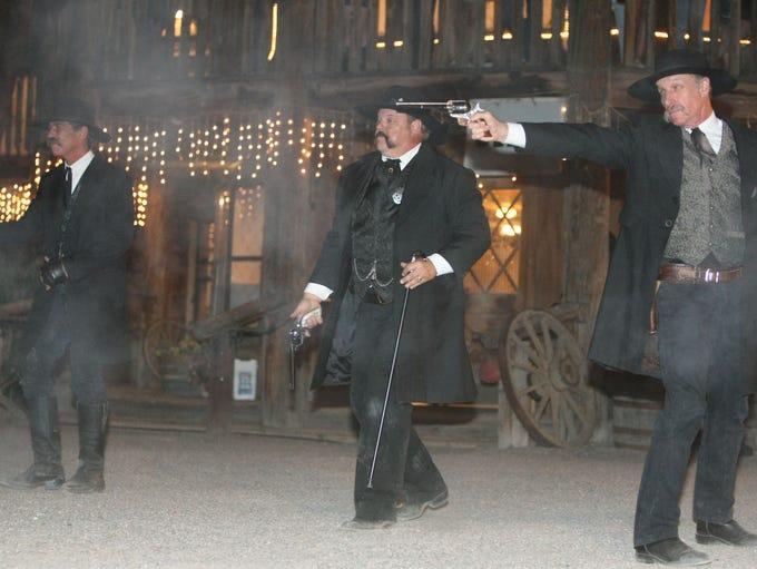 March 19,  1882, Morgan Earp was killed from an ambush