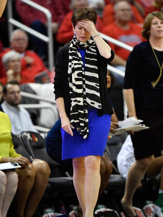 NCAA Womens Basketball: Notre Dame at Louisville