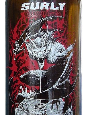 Darkness Russian Imperial Stout, from Surly Brewing Co. in Minneapolis/Brooklyn Center, Minn., is 10.3% ABV.