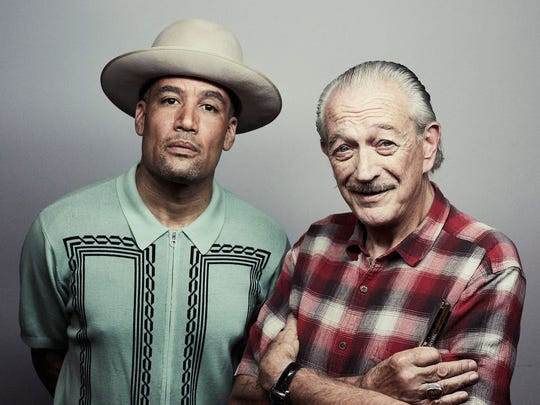 Ben Harper and Charlie Musslewhite will perform at