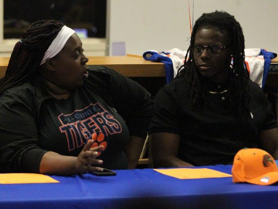 Errin Mays talks about her son Zoron Wade during a
