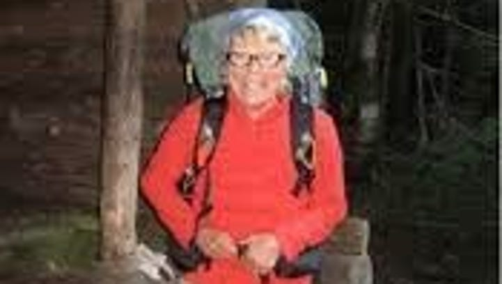 Geraldine Largay, who died after she became lost on the Appalachian Trail.