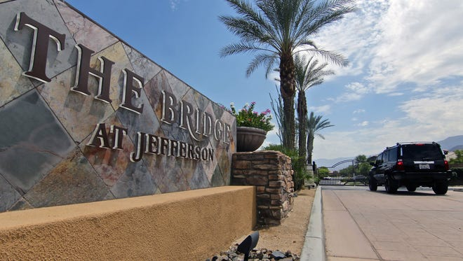 A group of residents of The Bridge at Jefferson is requesting the Riverside County Office of Education permit a school district boundary change. A group of residents of The Bridge at Jefferson is requesting the Riverside County Office of Education a school district boundary change from Coachella Valley Unified to Desert Sands Unified.