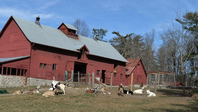 The Sandburg goat barn at Carl Sandburg Home National Historic Site in Flat Rock. The site will offer three special programs during the park's anniversary month in October.