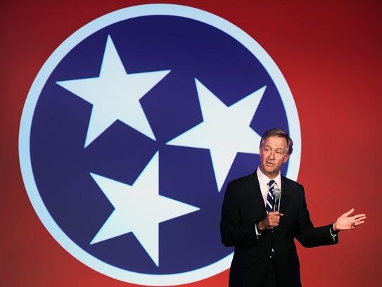 Tennessee Gov. Bill Haslam says that a Republican rewrite