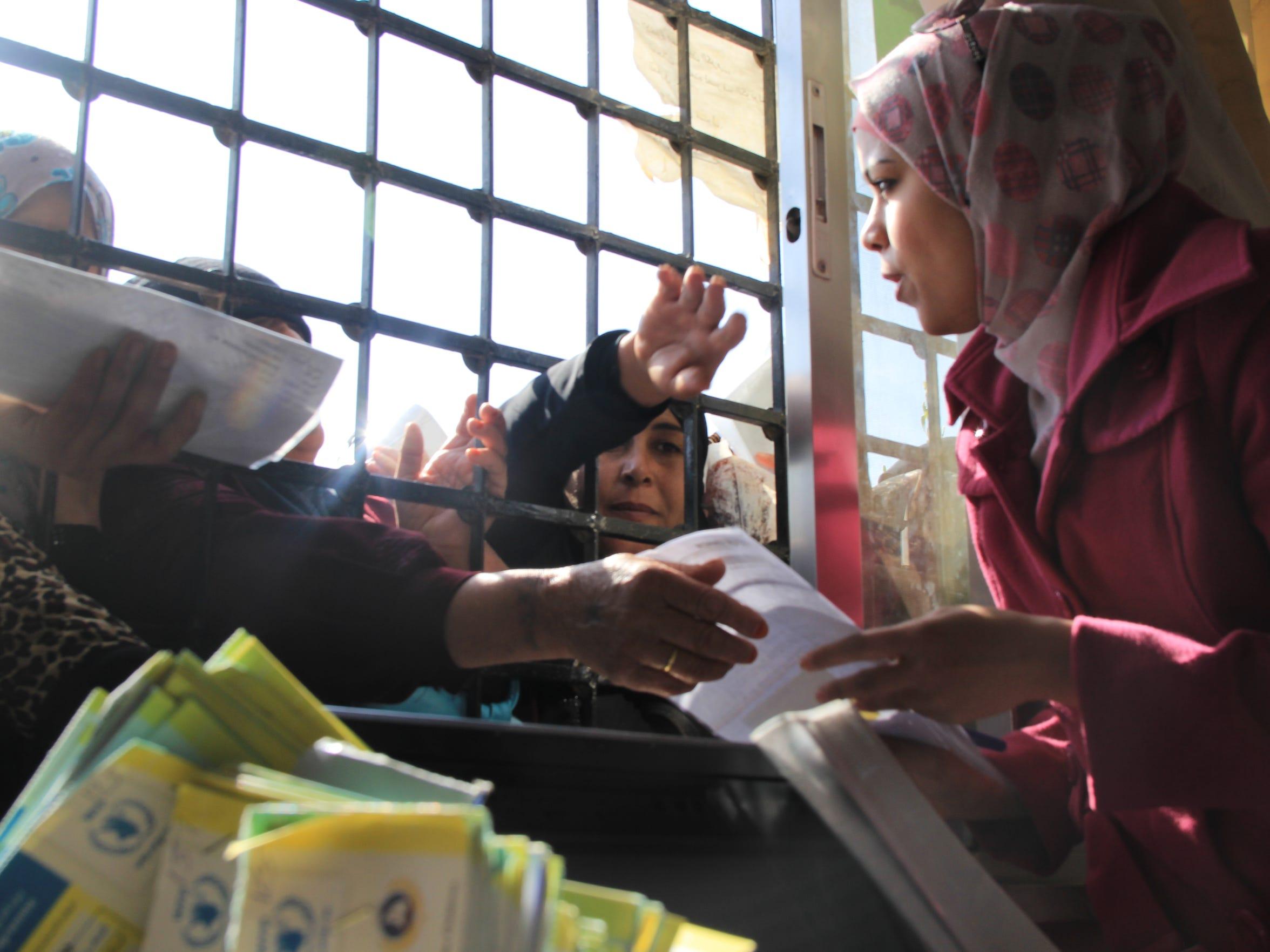Food aid vouchers in Jordan