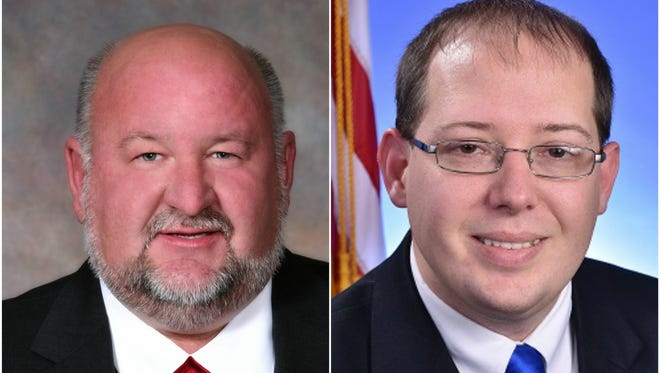 La Vergne Mayor Dennis Waldron, left, is being challenged by Alderman Jason Cole for the mayor's post in the 2018 city election.