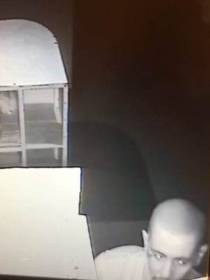 Security cameras filmed a man suspected in a June 12 burglary of Ben's Grocery, 601 S. Mesa St.