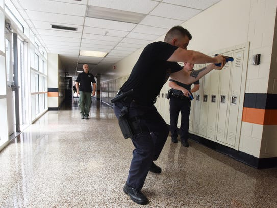 Hasbrouck Heights police held an active shooter training