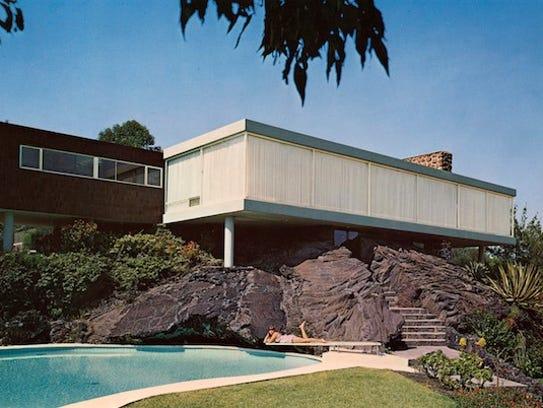 A house designed by architect Francisco Artigas and