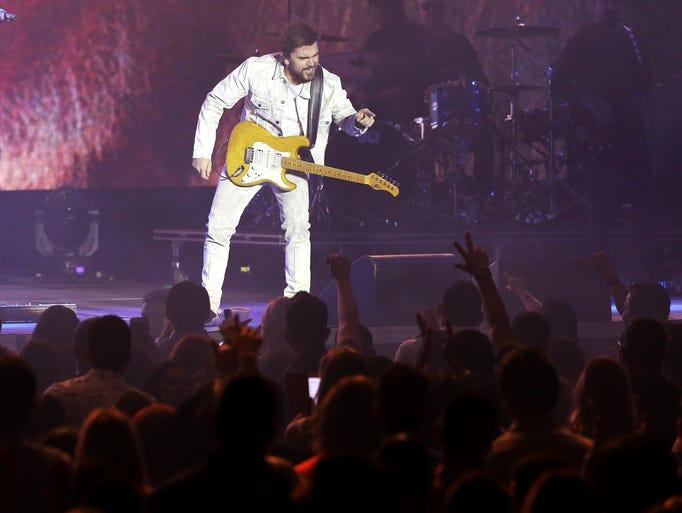 Multiple Grammy winner Juanes performs Wednesday night