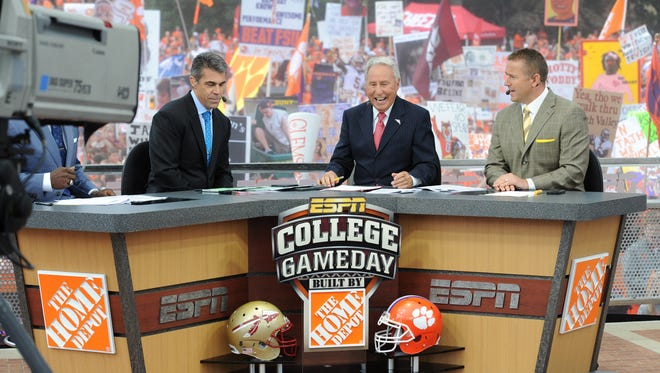 ESPN's College GameDay crew was visited Clemson, S.C. last October when the Seminoles took on Clemson.  The Tigers take on the Seminoles Saturday with GameDay in town, this time in Tallahassee.