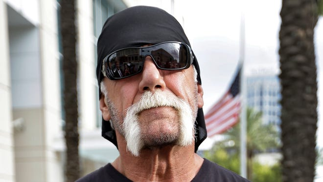 There's a biopic in the works about reality TV star and former pro wrestler Hulk Hogan, shown in 2012.